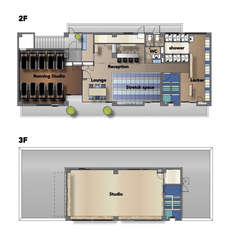フィットネスクラブ,YR club house,ジム
