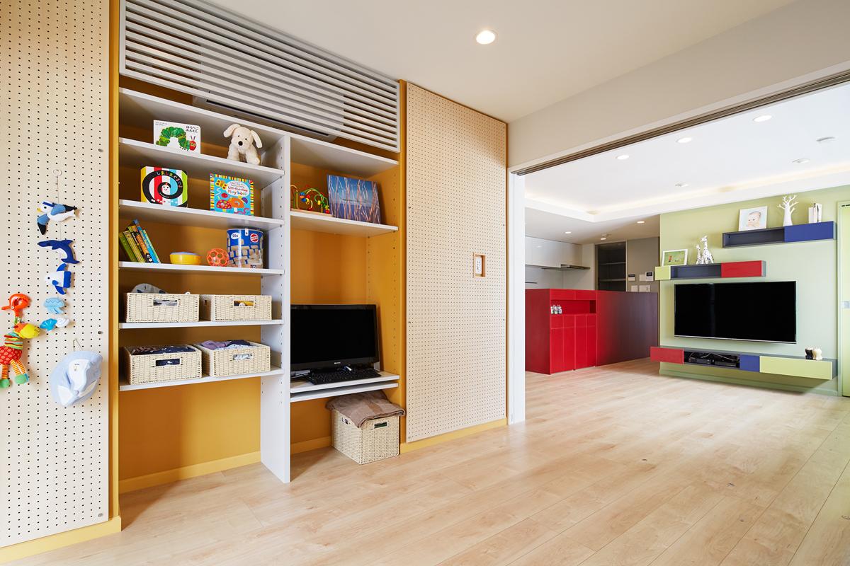 リフォーム,家,家事楽style,子供部屋
