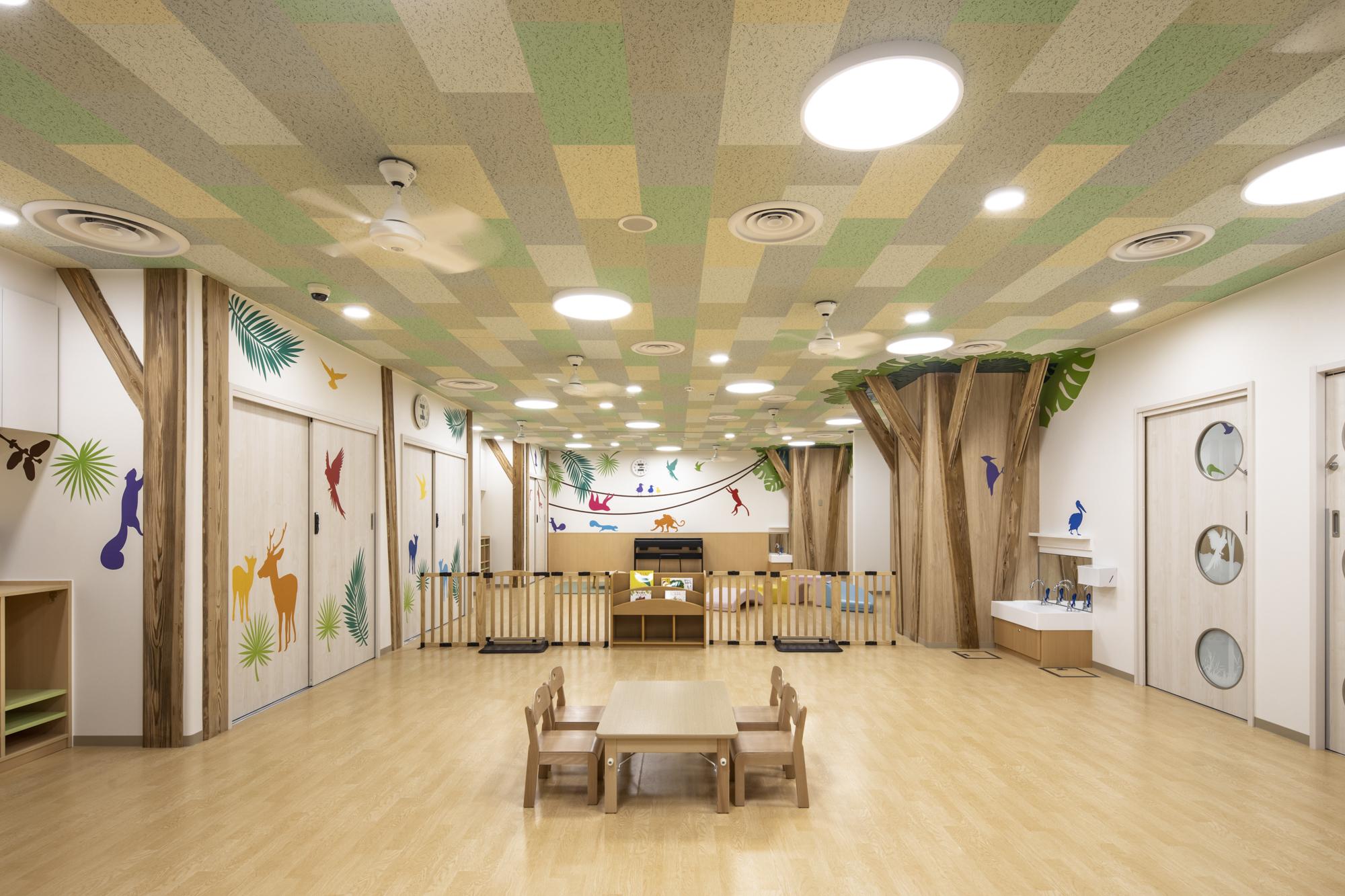 保育園 デザイン 保育室